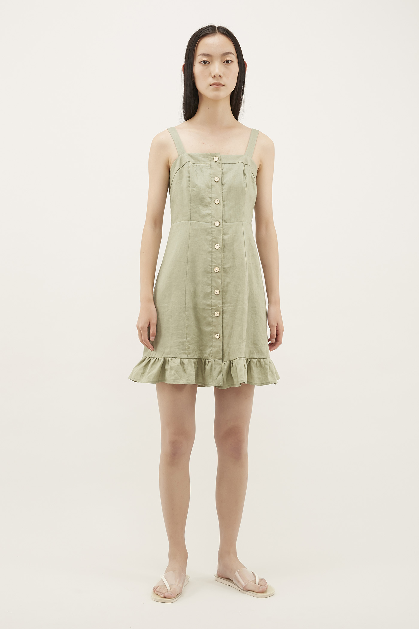Ransley Frill-hem Dress