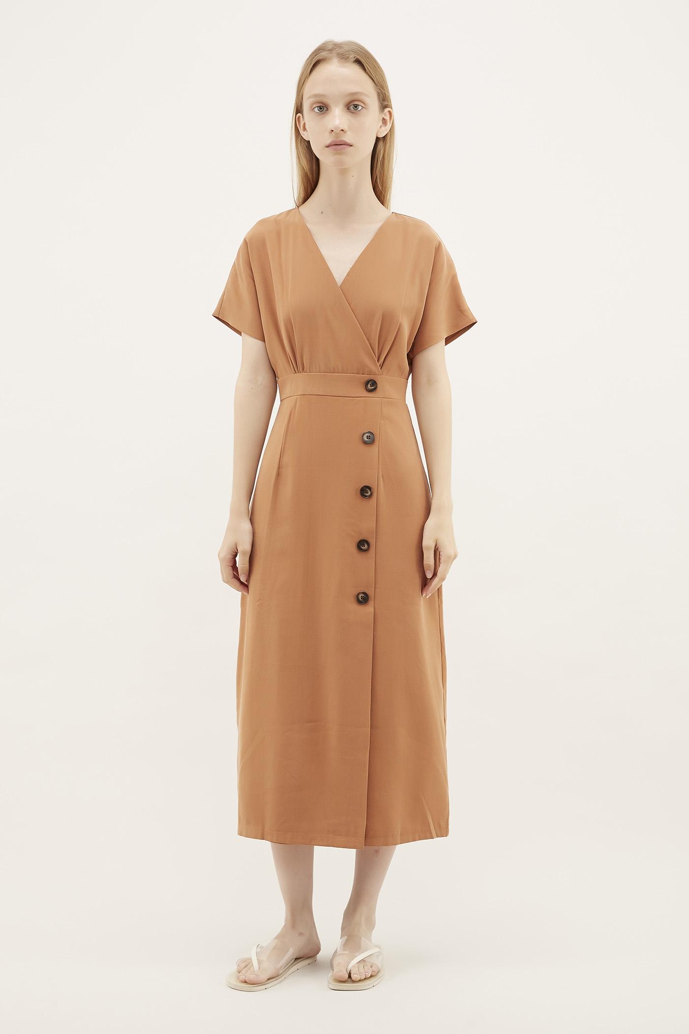 Poli Overlap Dress