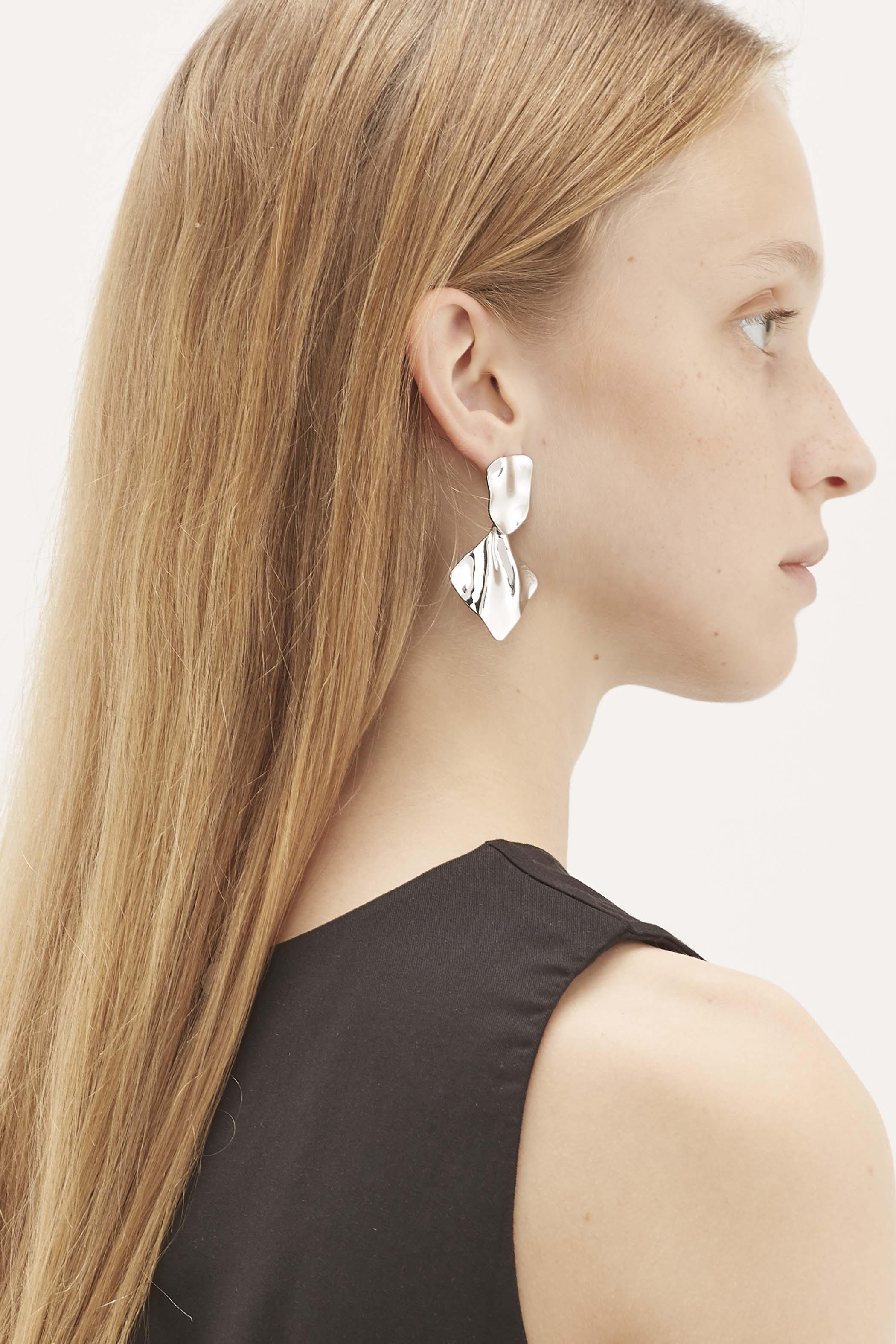 Kyson Molten Drop Earrings