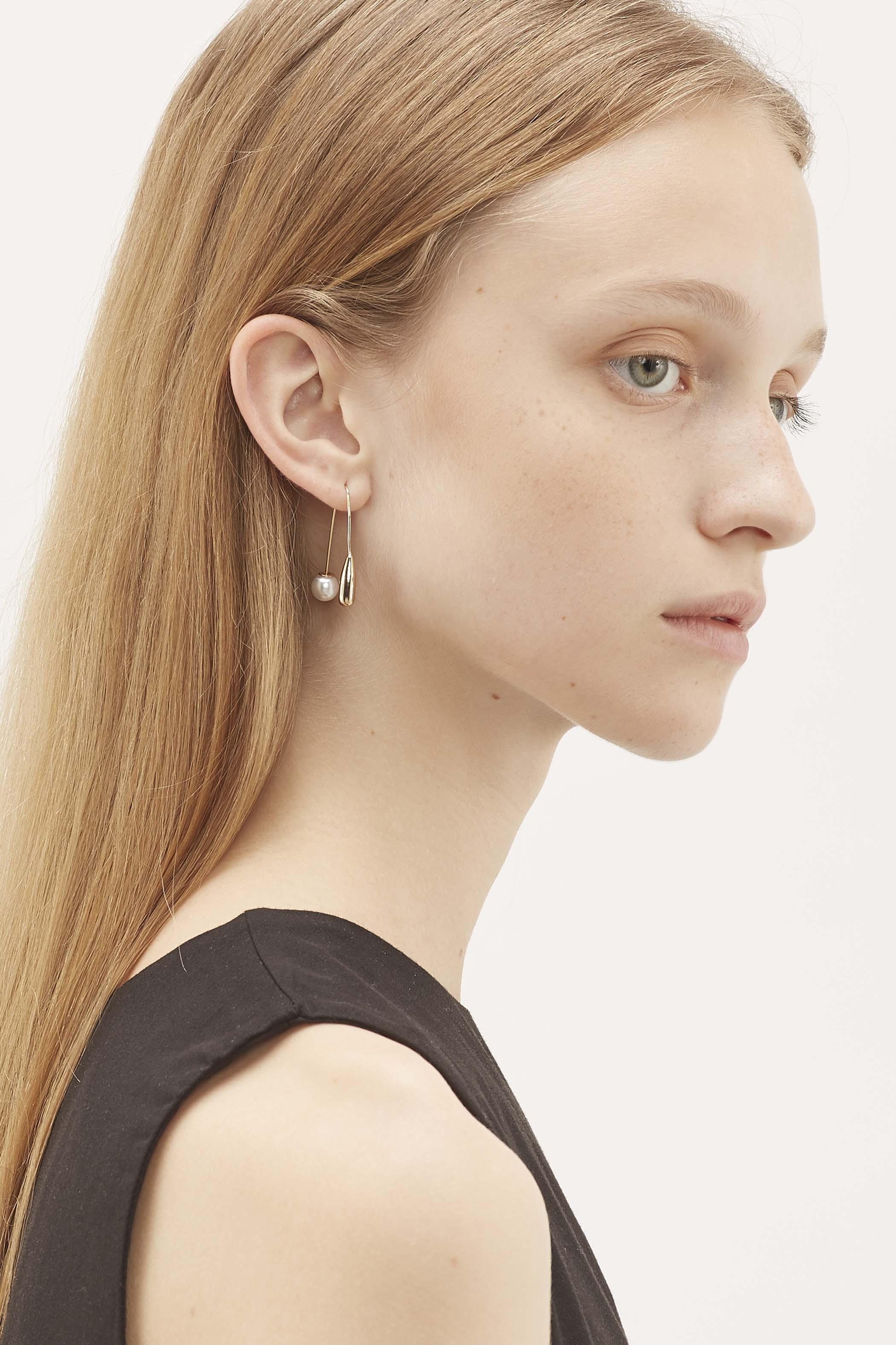 Everett Pearl Drop Earrings