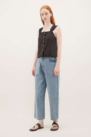 Solvia Square-neck Top