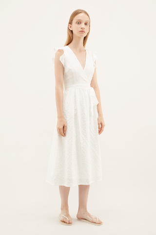 Aldrin Cross-front Dress
