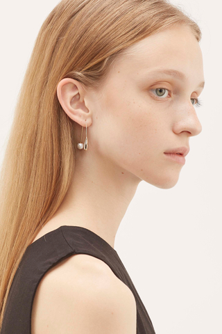 Everett Pearl Drop Earrings
