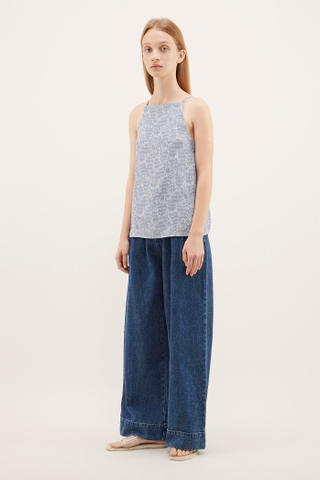 Jonasa Square-neck Top