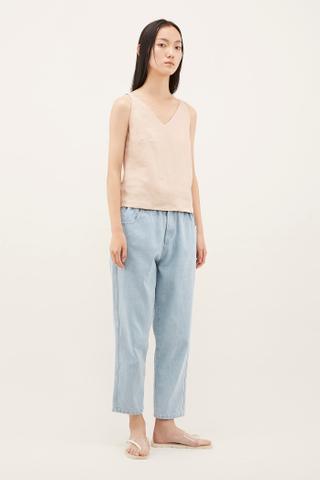 Faiqa Linen Camisole