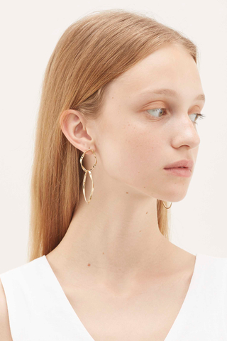 Goran Double-Hoop Earrings