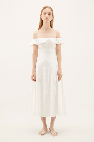 Ezio Eyelet Dress