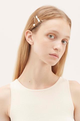 Ava Pearl Hair Pin Set