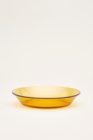 Duralex Amber Soup Plate