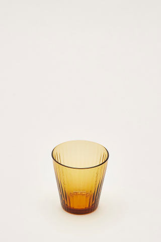 Kristopher Reeded-Glass Tumbler