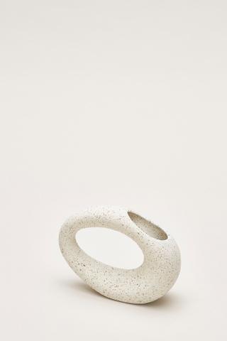 Mayumi Oval Ring Vase