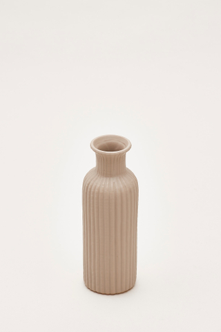 Noriko Lined Column Vase