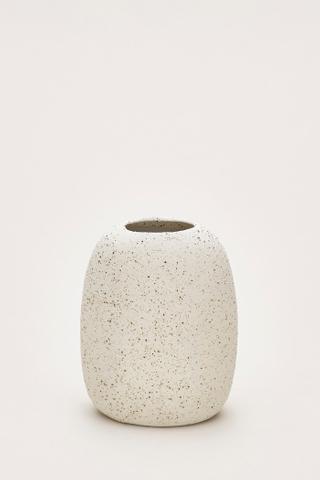 Rieko Small Flat Vase
