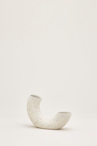 Sumi Ceramic Half-Ring Vase
