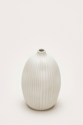 Yuki Dotted Oblong Vase