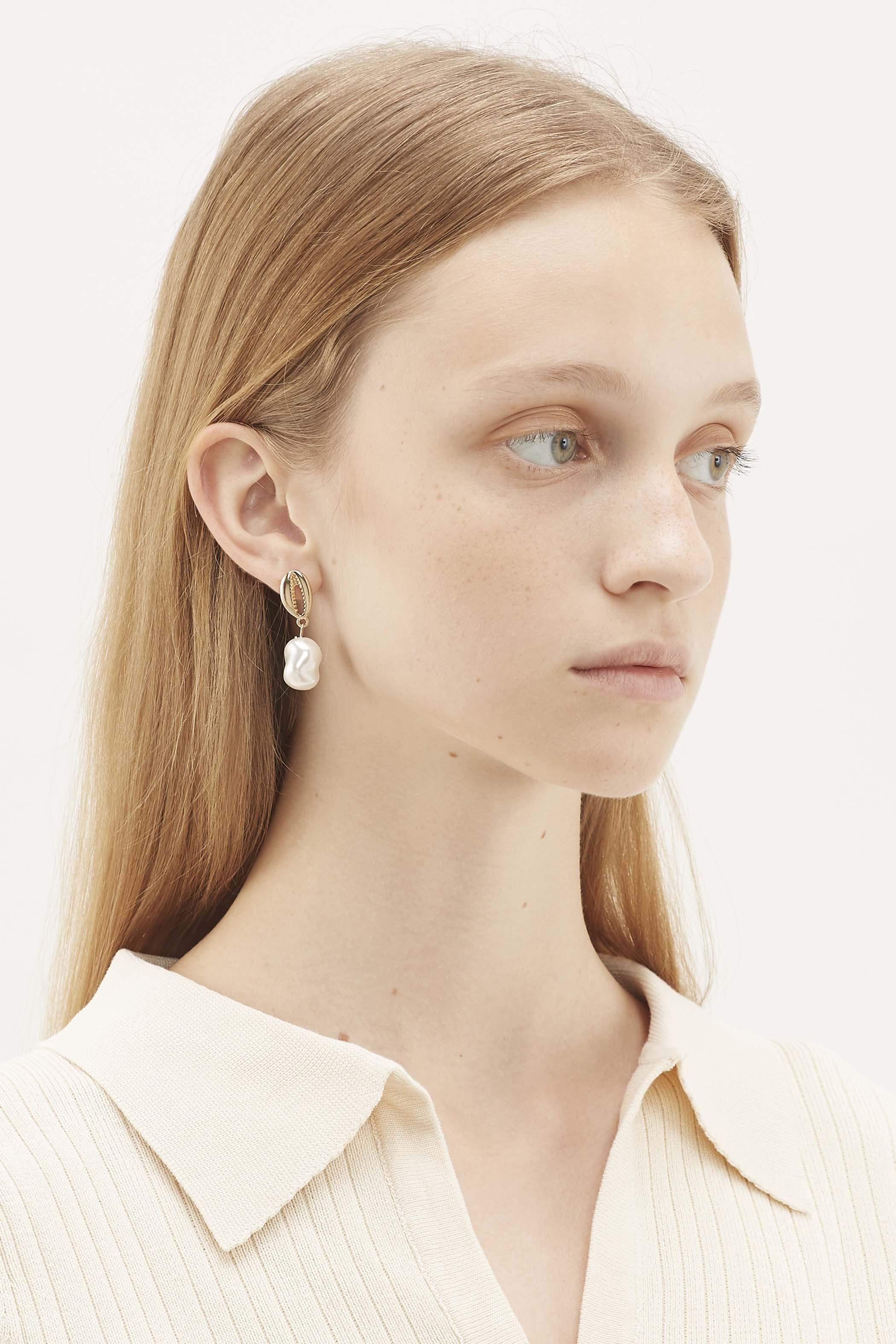 Rory Pearl Drop Earrings
