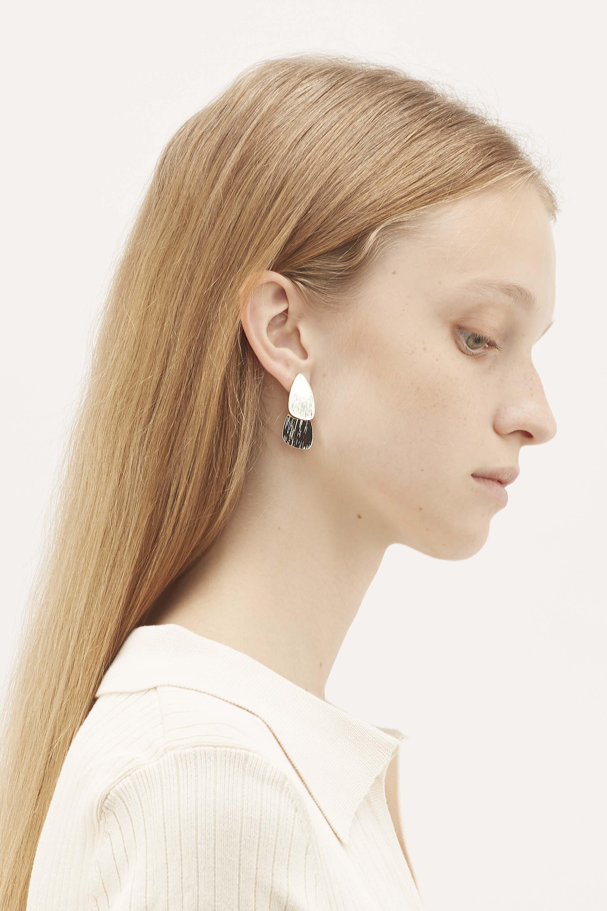 Tallie Textured Ear Studs