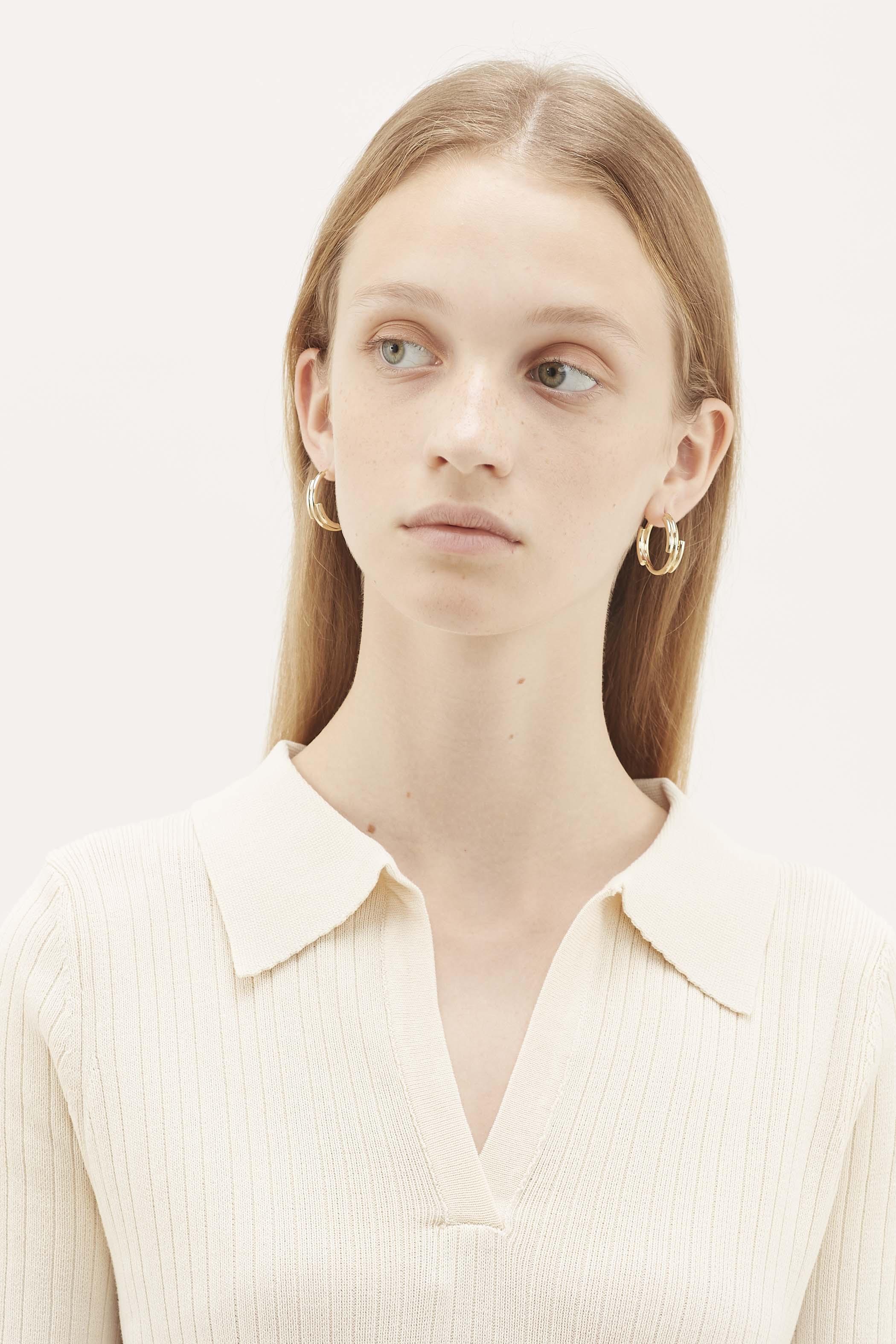 Zuska Irregular Hoop Earrings