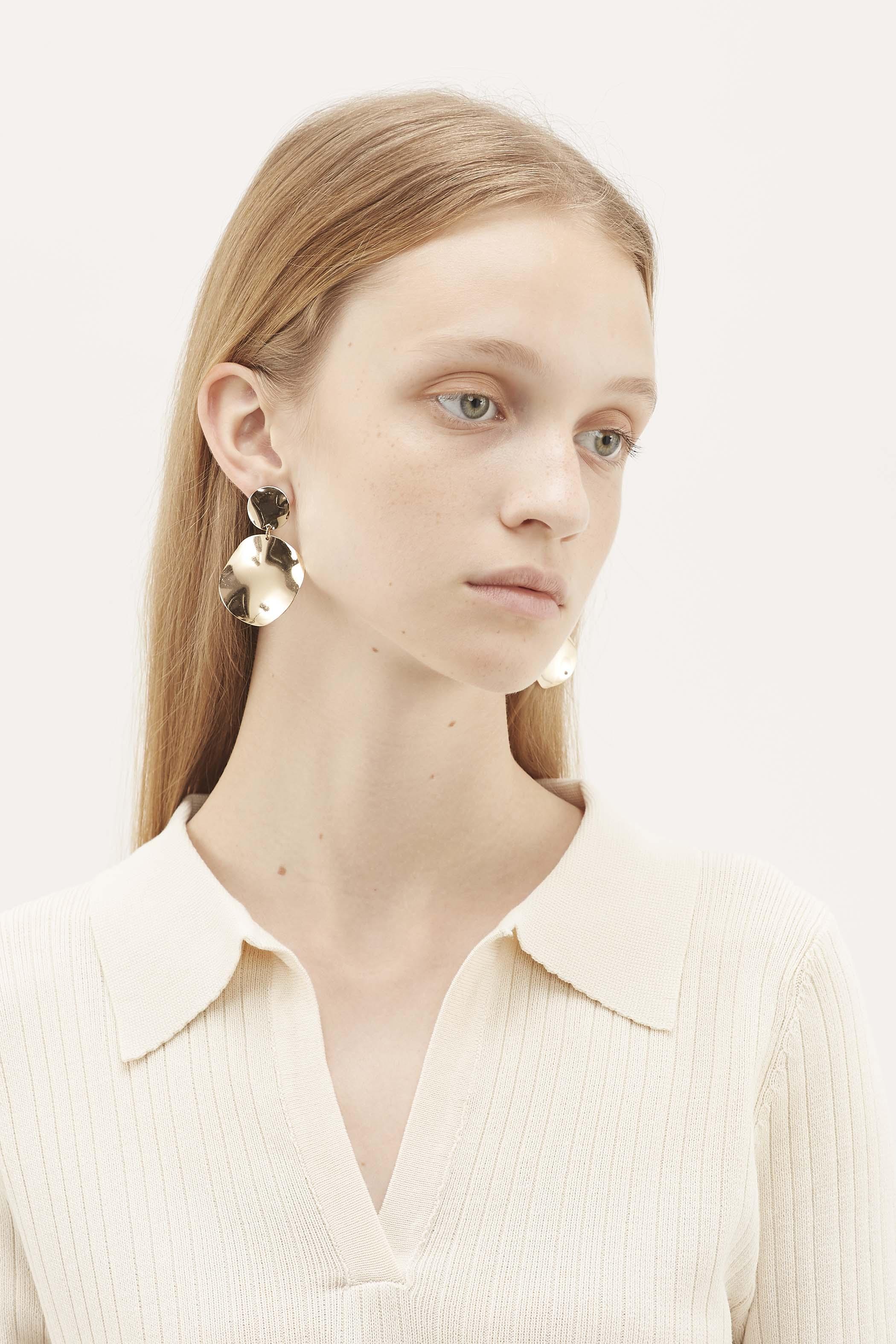 Dulce Molten Drop Earrings