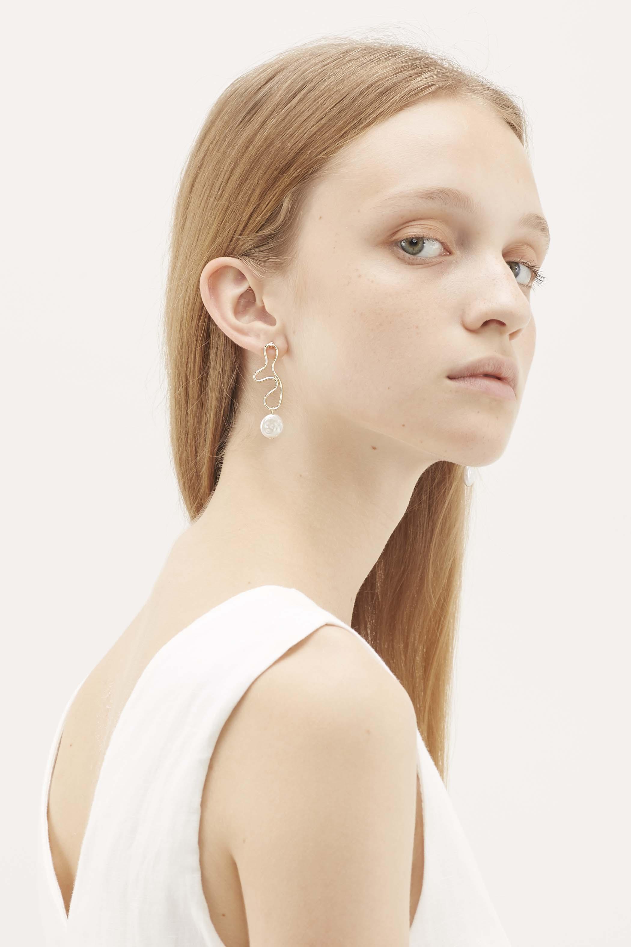 Keld Pearl Drop Earrings