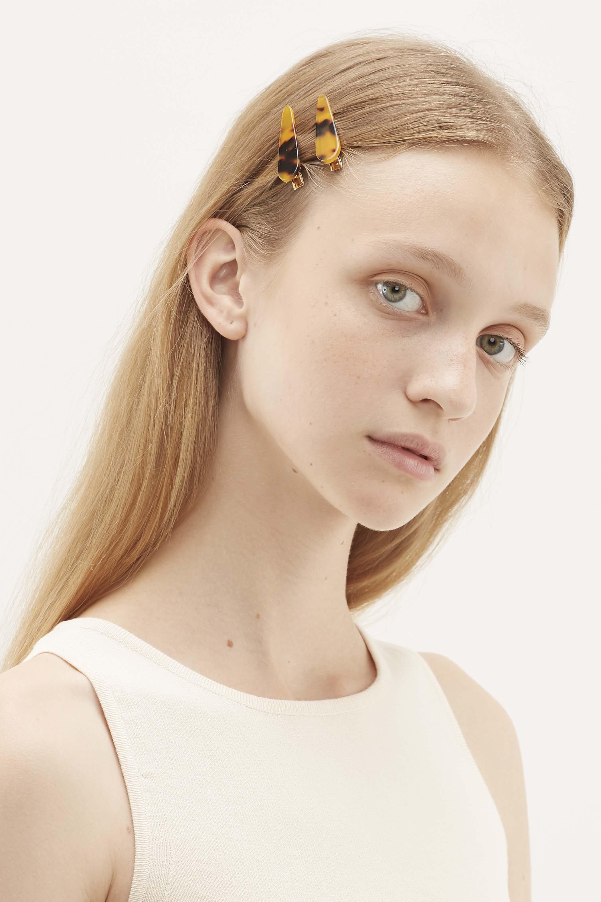 Maeve Resin Hair Clips