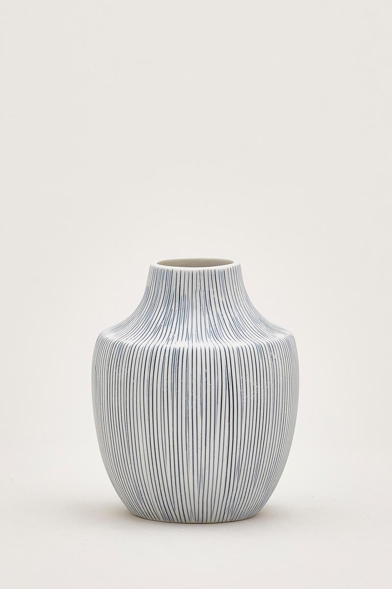 Hiro Lined Small Ceramic Vase The Editor S Market