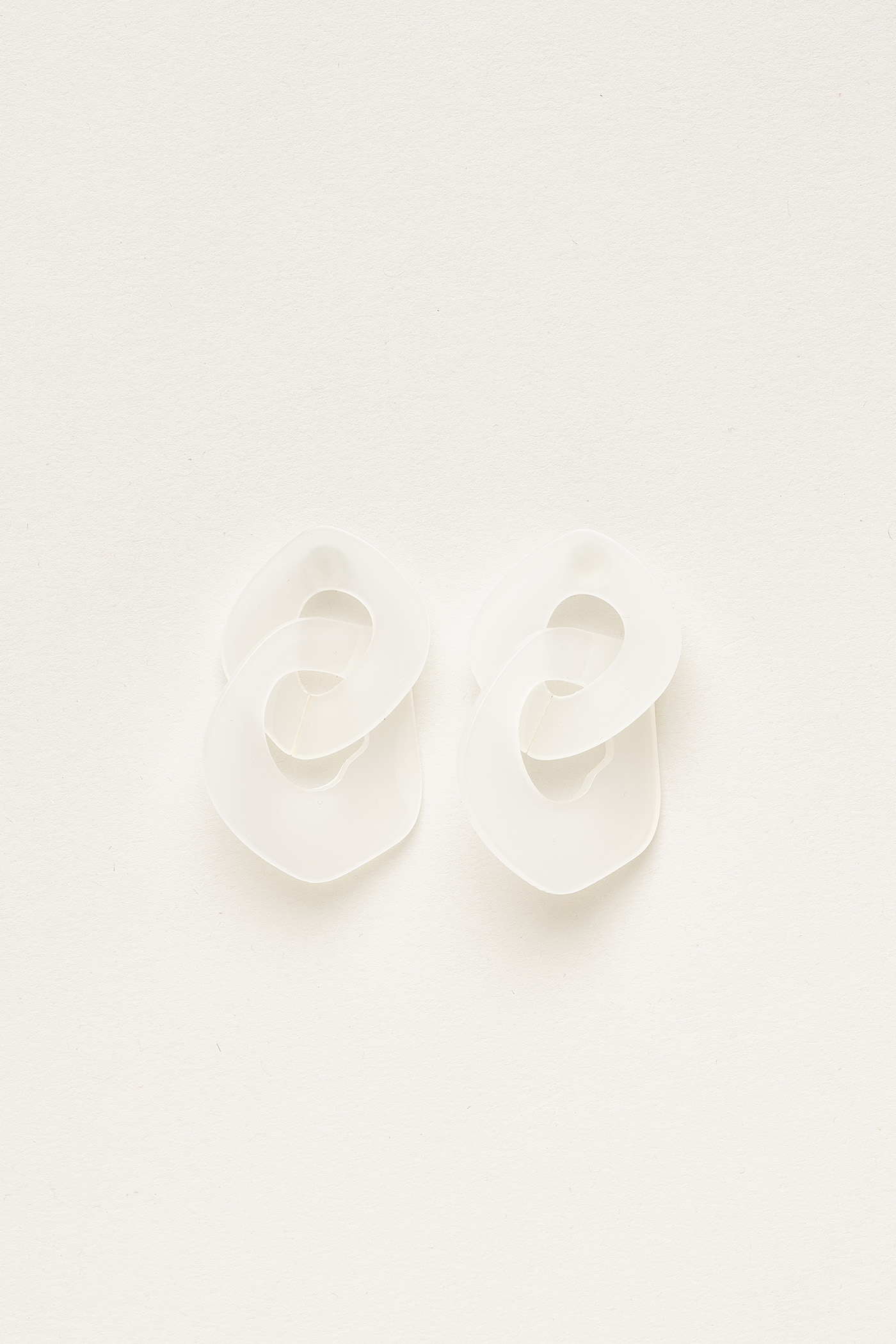 Carlson Acrylic Link Earrings
