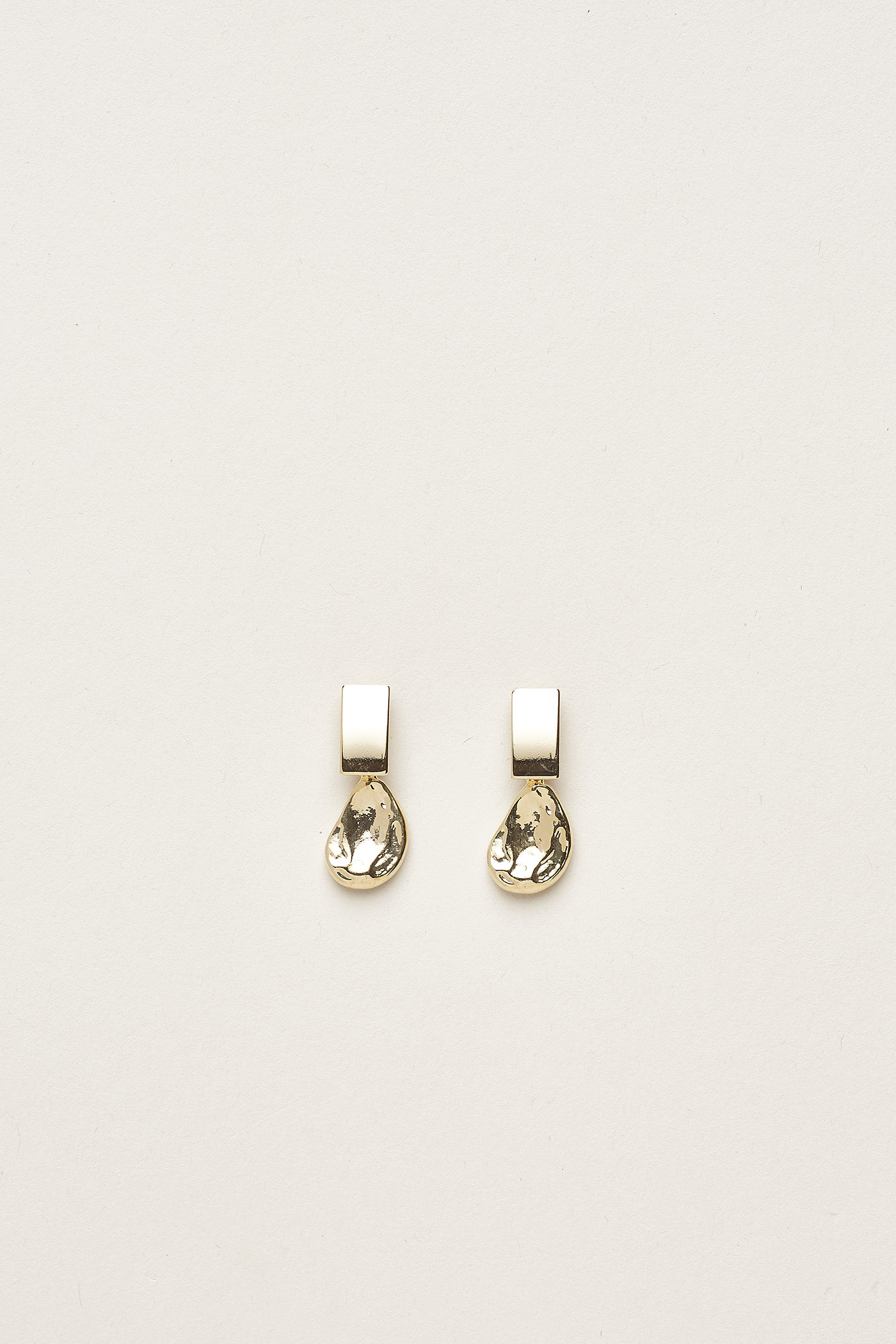 Quyen Molten Drop Earrings