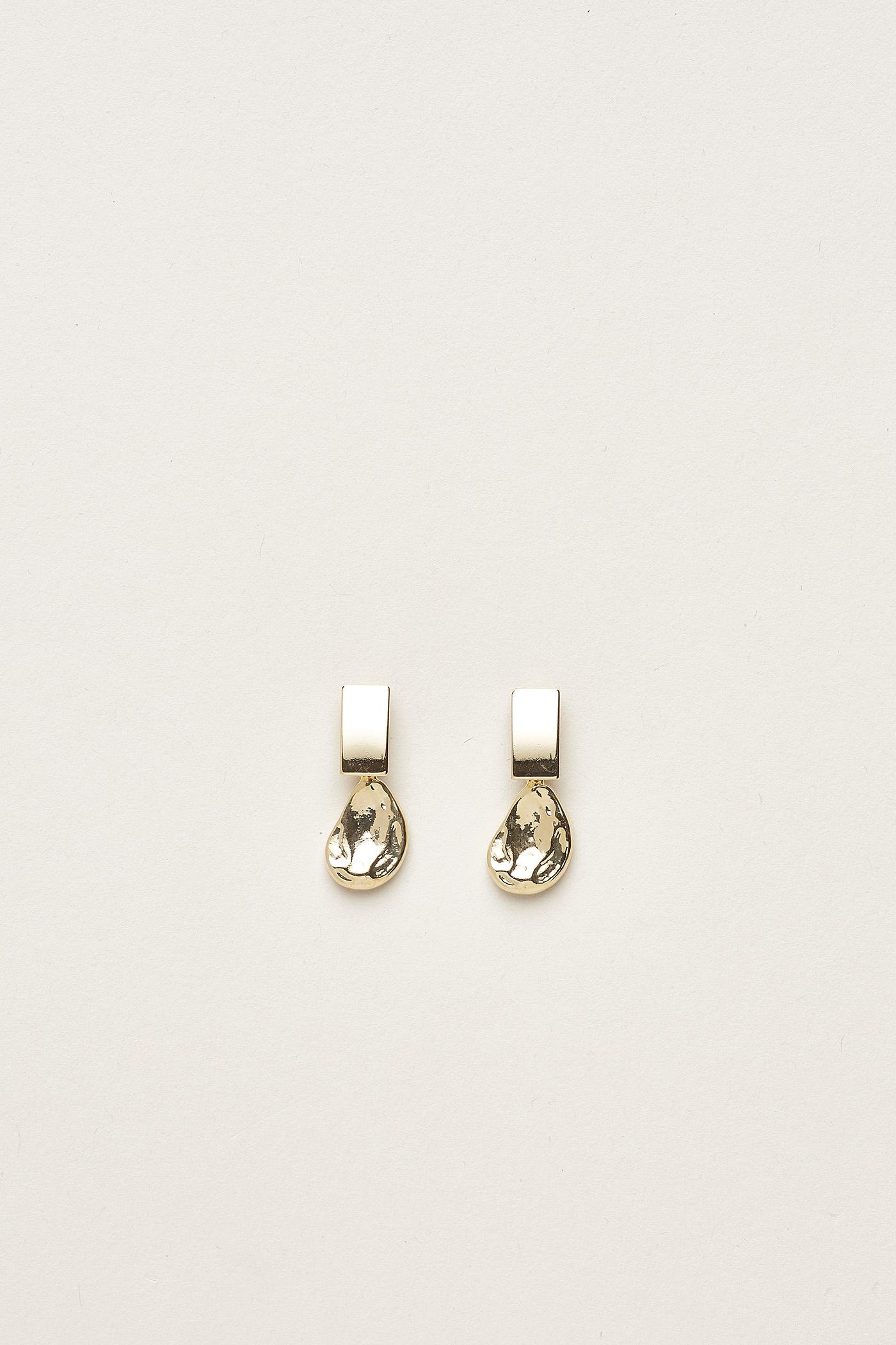 Quyen Molten Drop Earrings