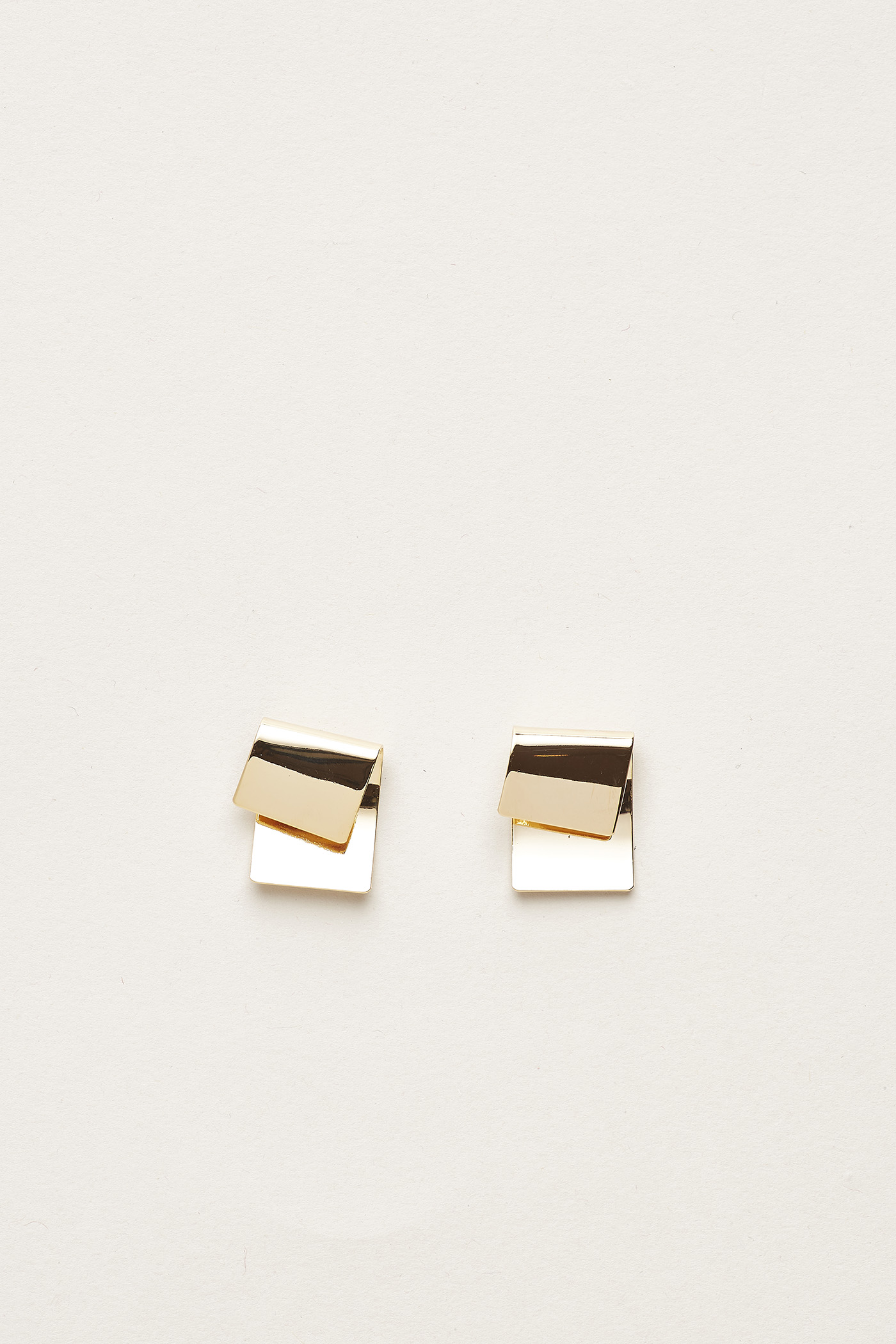 Roric Fold Textured Earrings