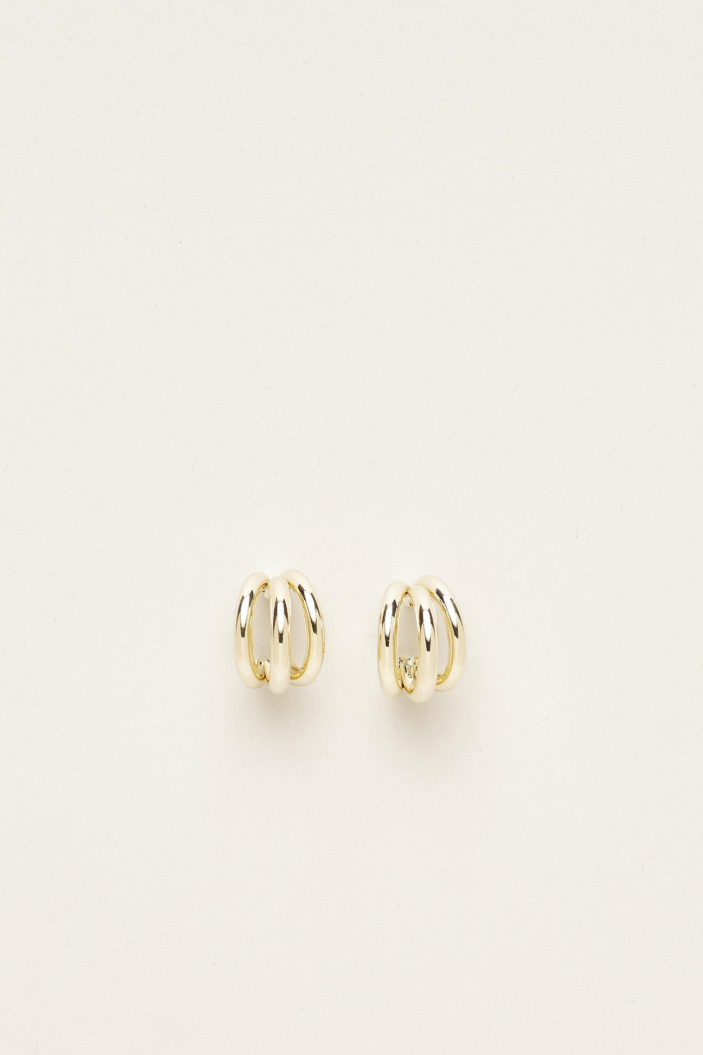 Andela Stacked Hoop Earrings