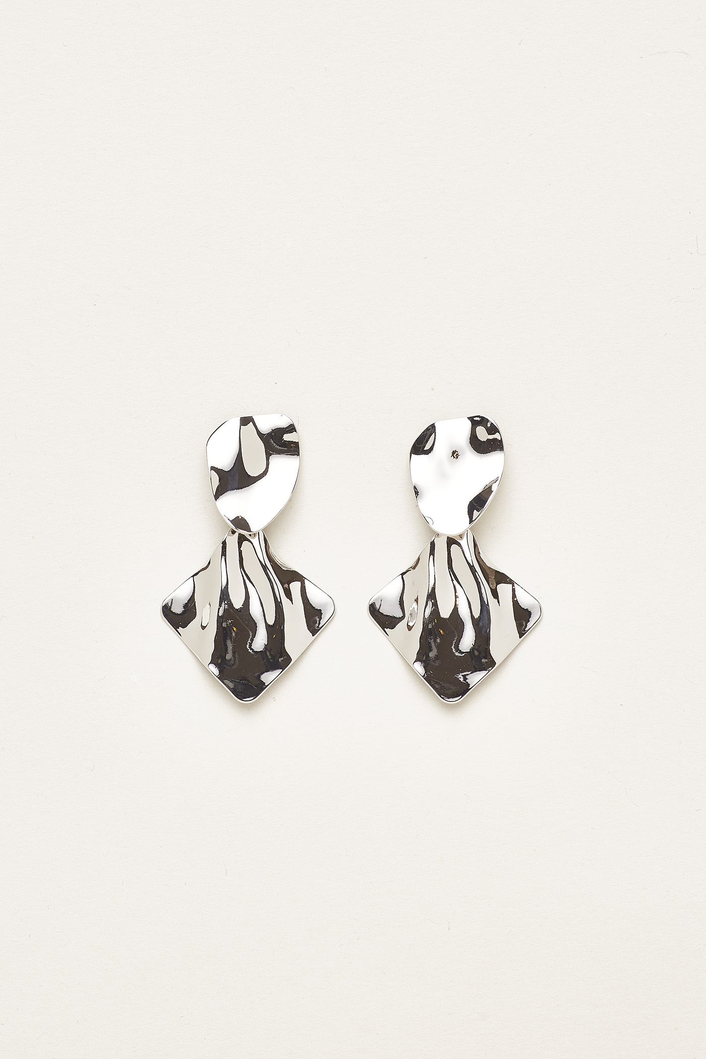 Kyson Molten Drop Earrings