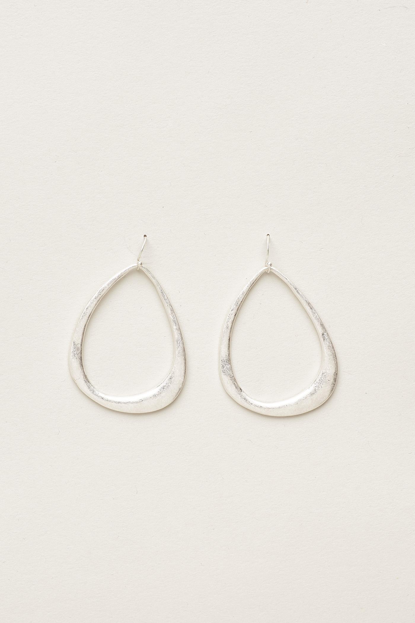 Anker Thin Hoop Earrings