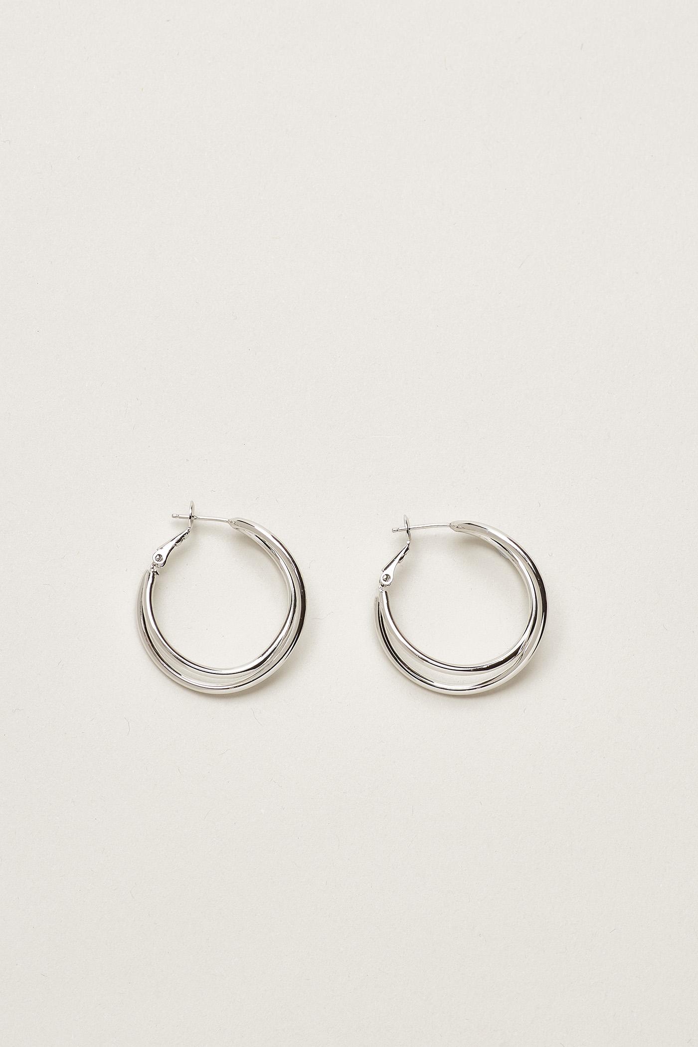 Aliz Double Hoop Earrings