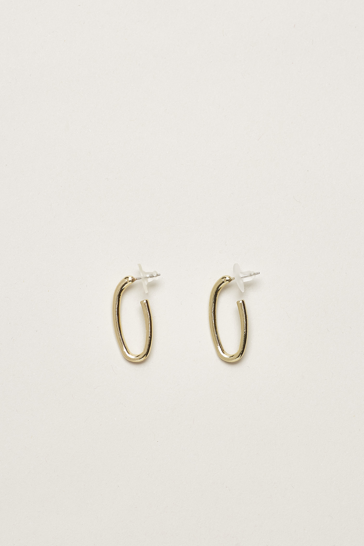 Olia Oval Hoop Earrings