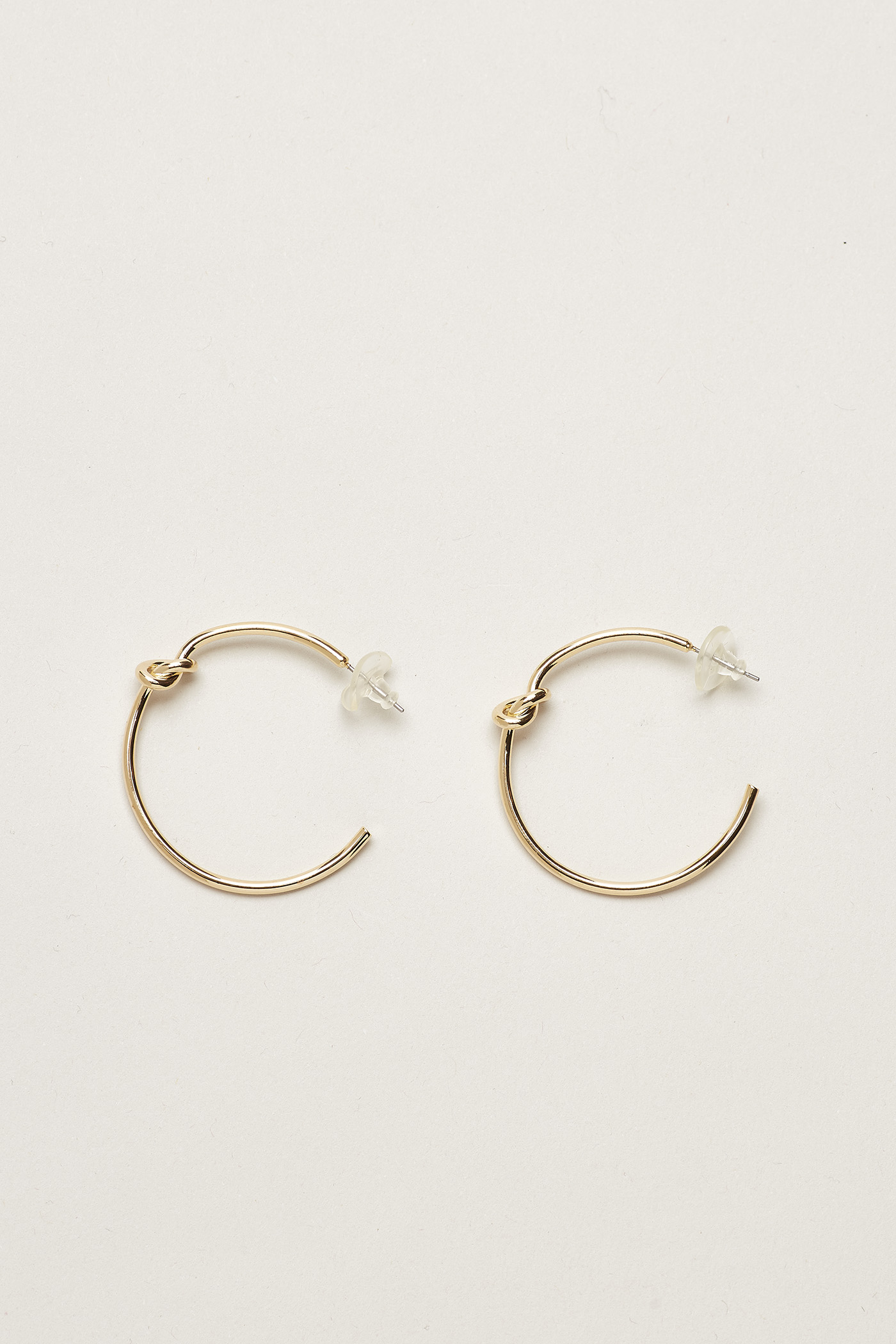 Ylva Knot Hoop Earrings