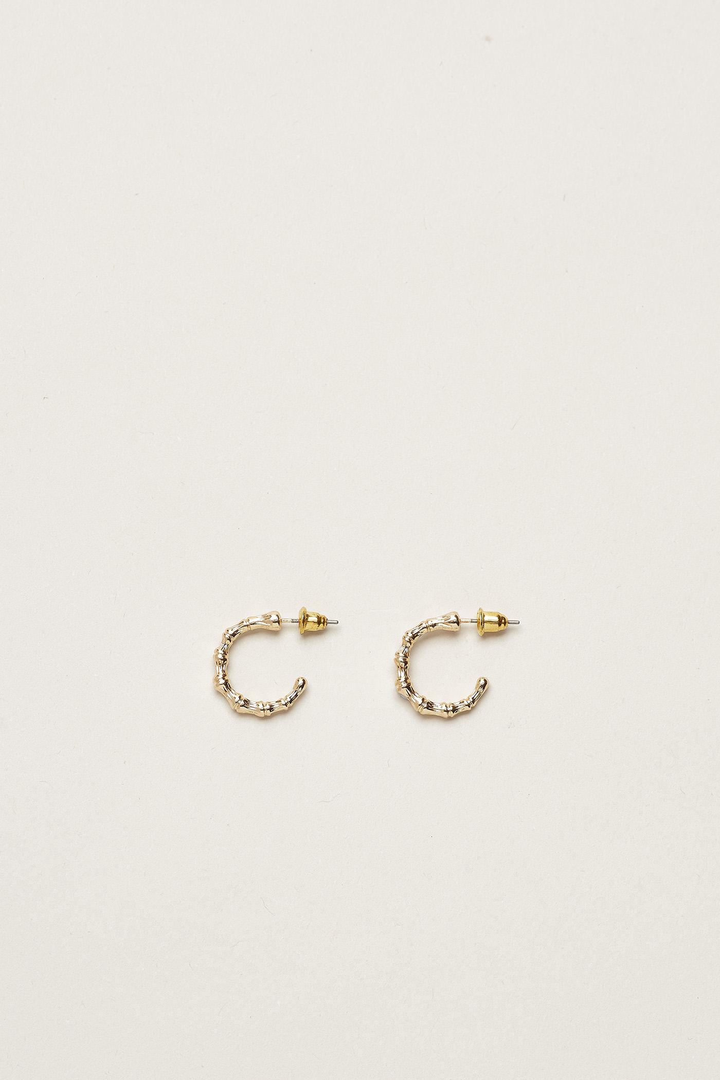 Yogi Mini Bamboo Earrings