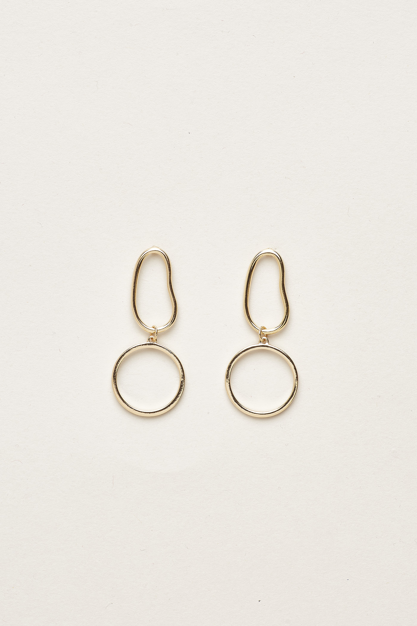 Taya Geometric Drop Earrings