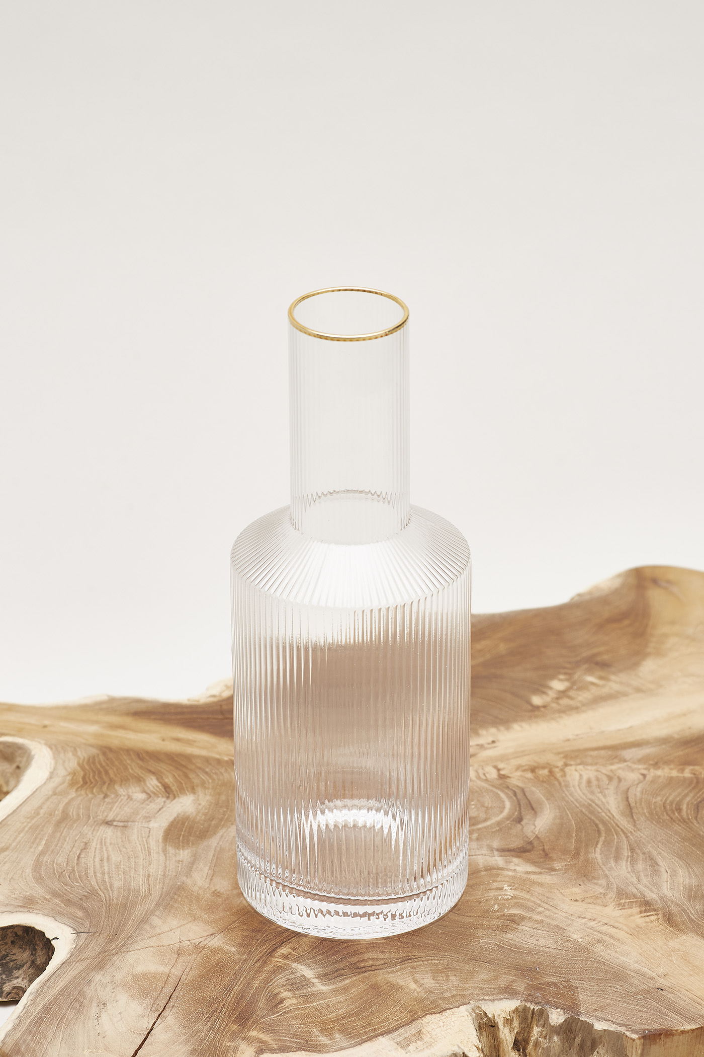 Anders Reeded-Glass Carafe