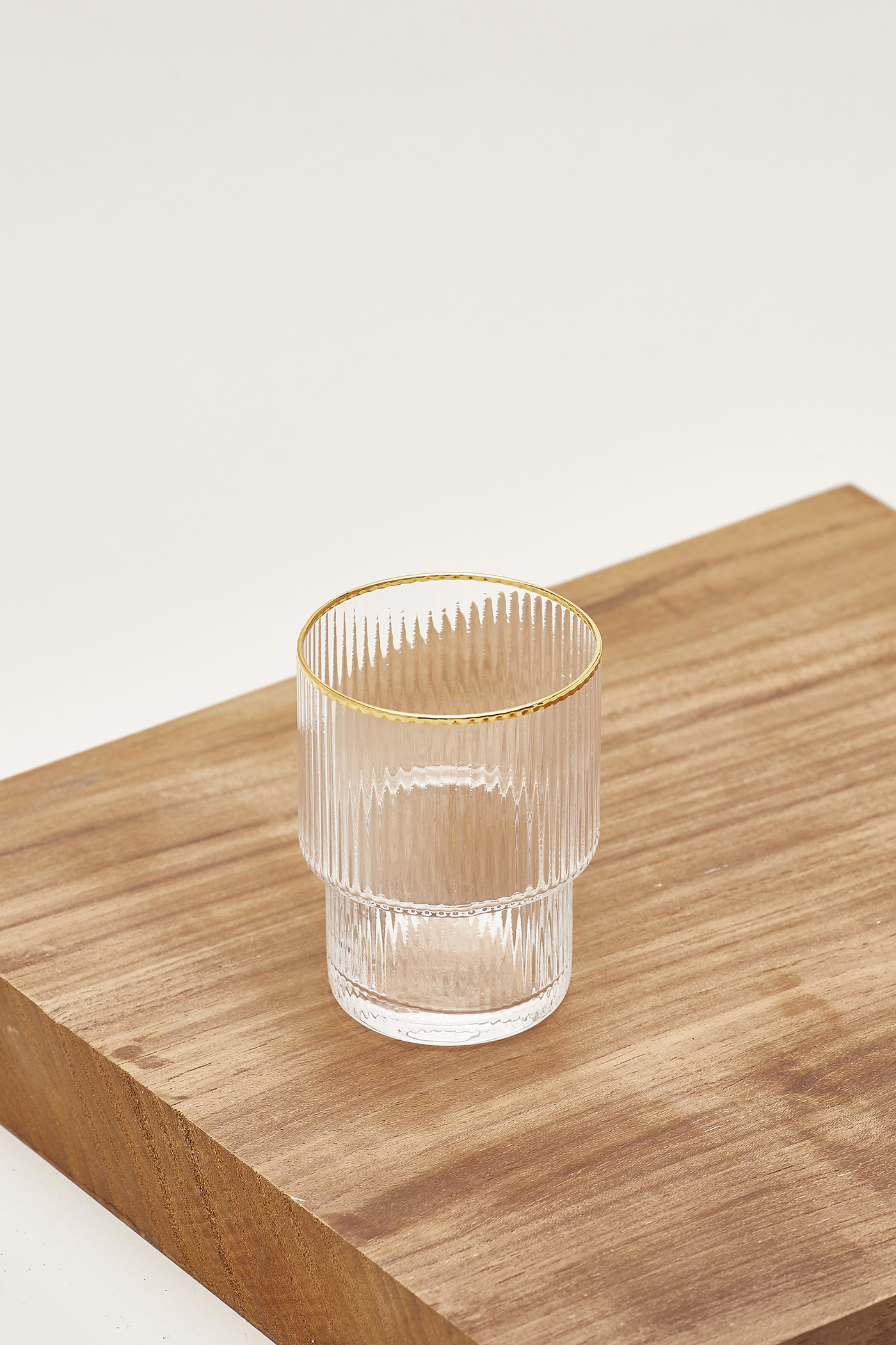 Anders Reeded-Glass Small Tumbler