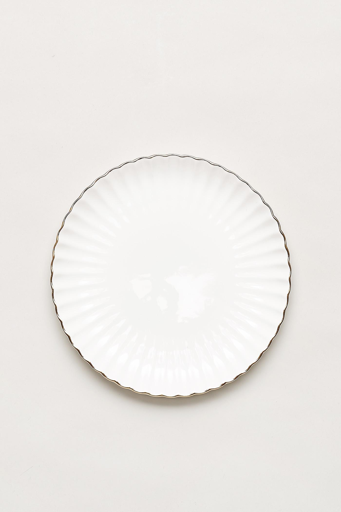 Anderson Gold-Rim Plate