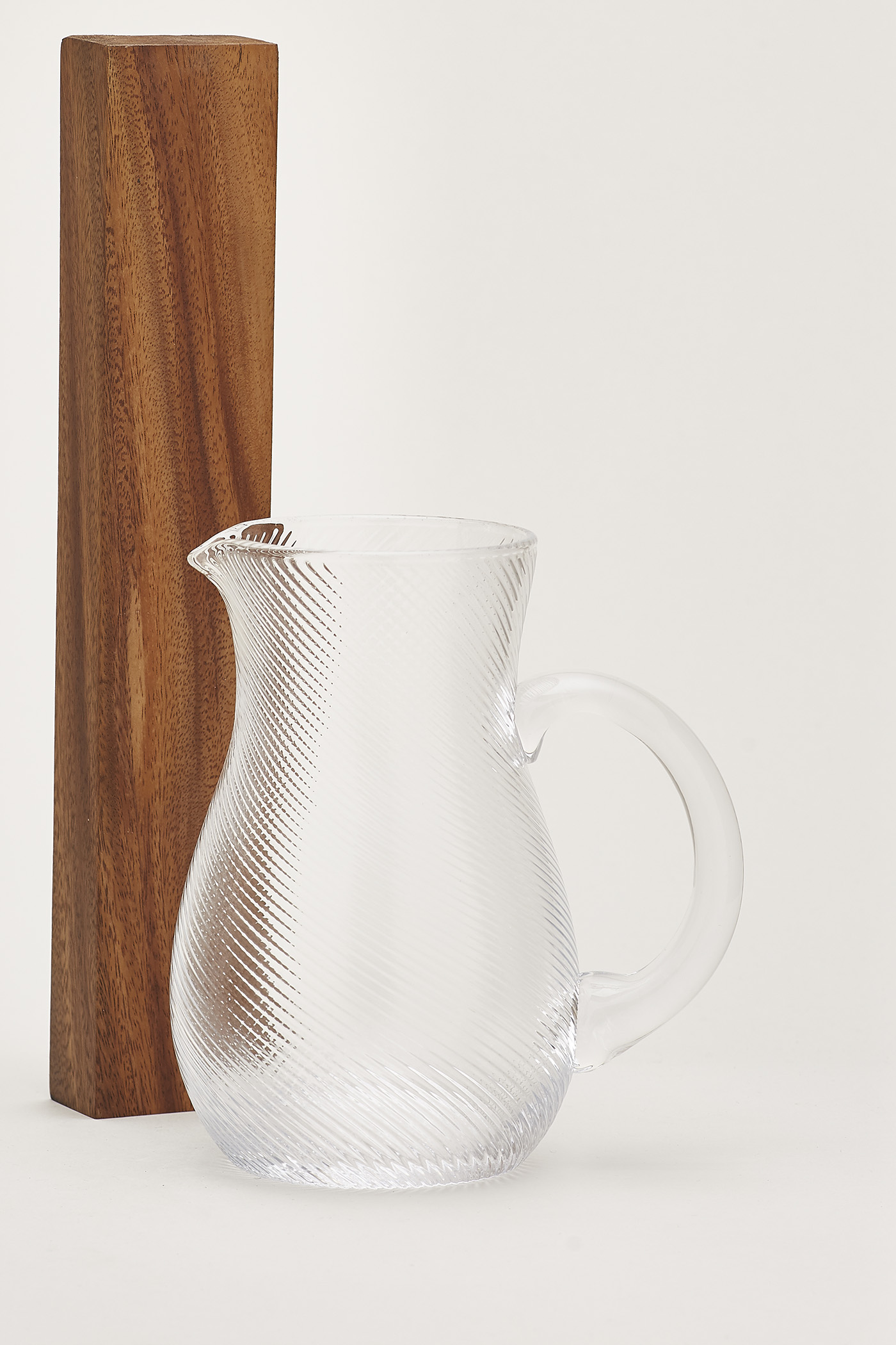 Arni Swirl-Glass Pitcher