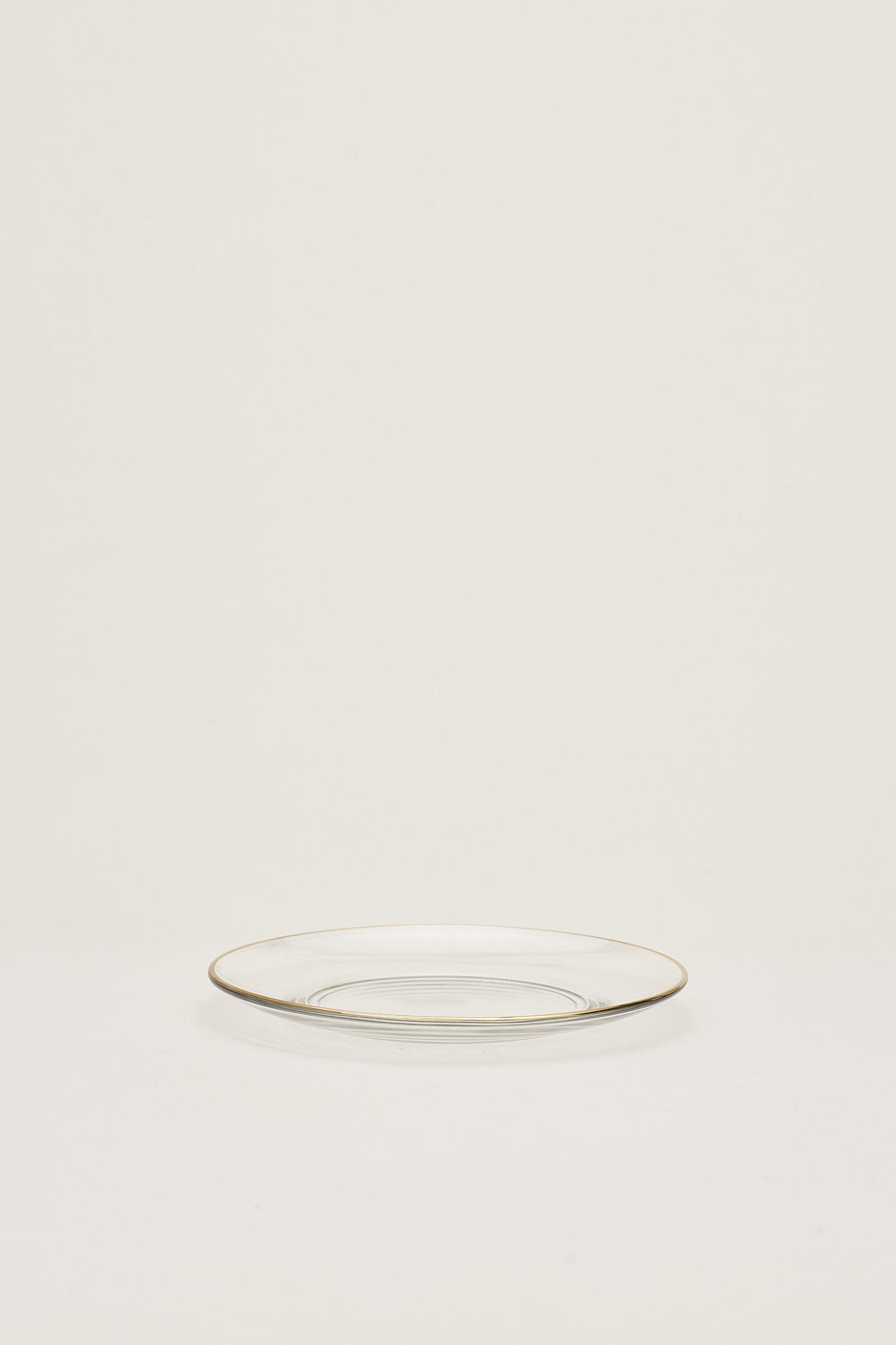 Asta Gold-Rim Plate