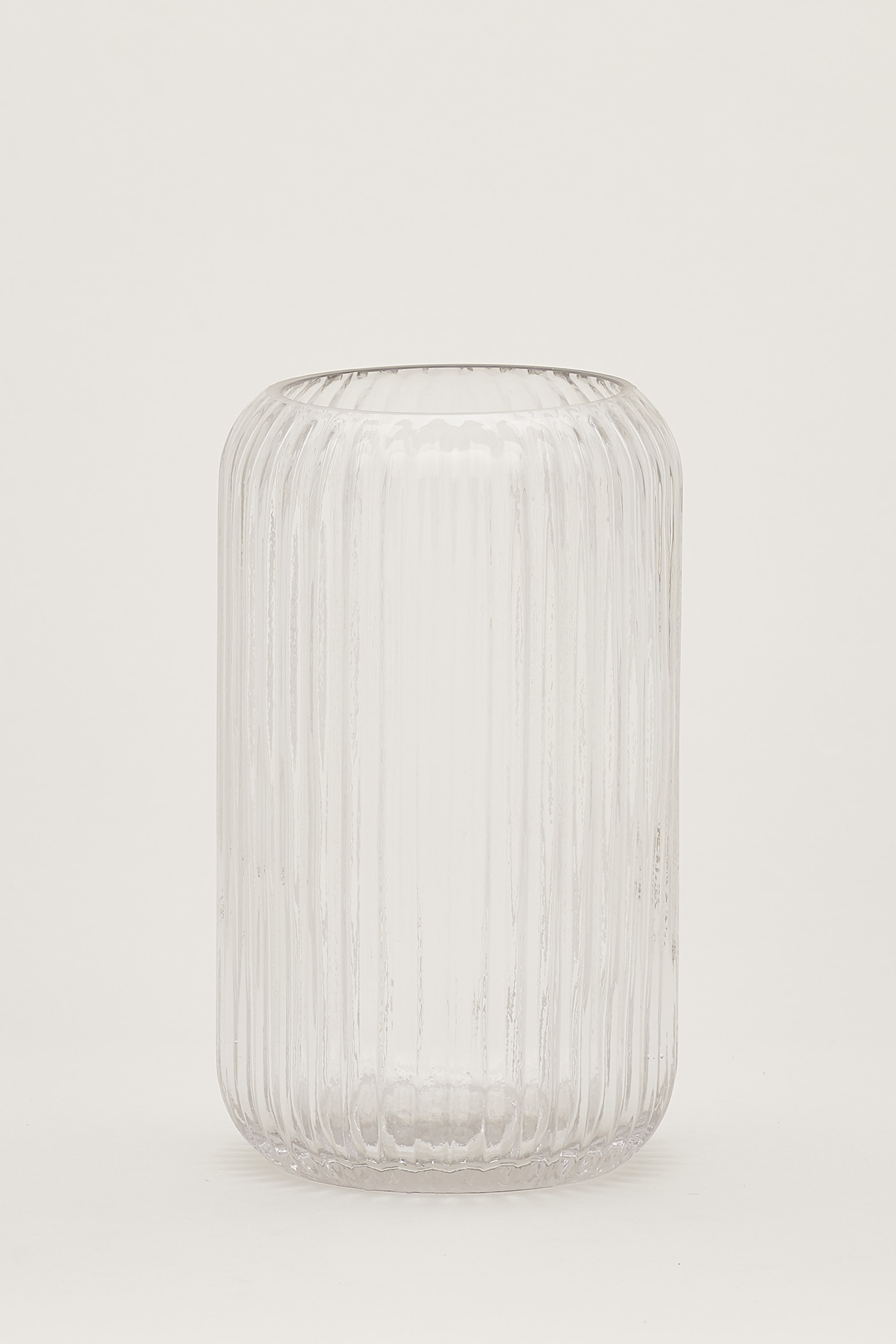 Blakely Reeded-Glass Tall Vase