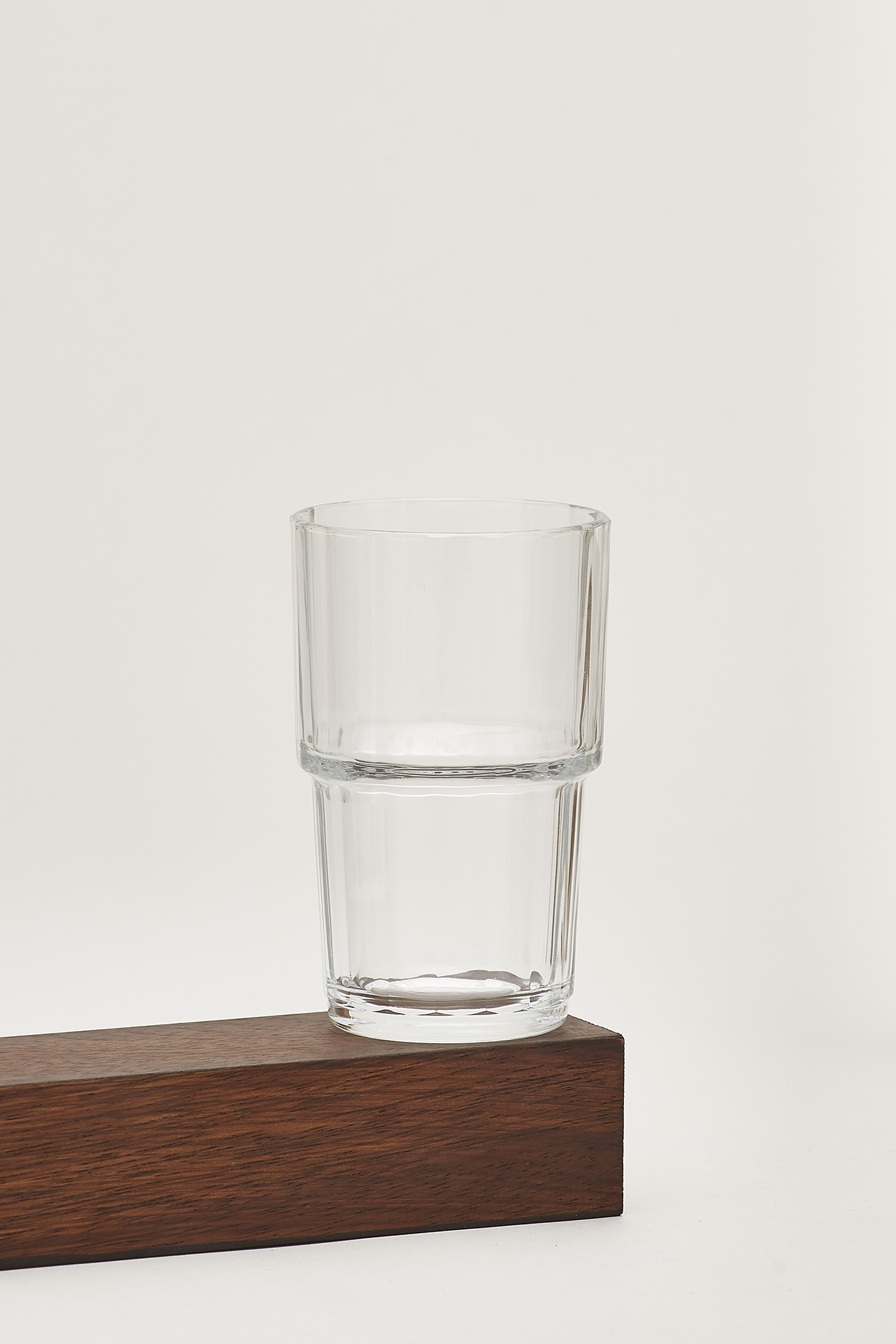 Ena Reeded-Glass Tumbler