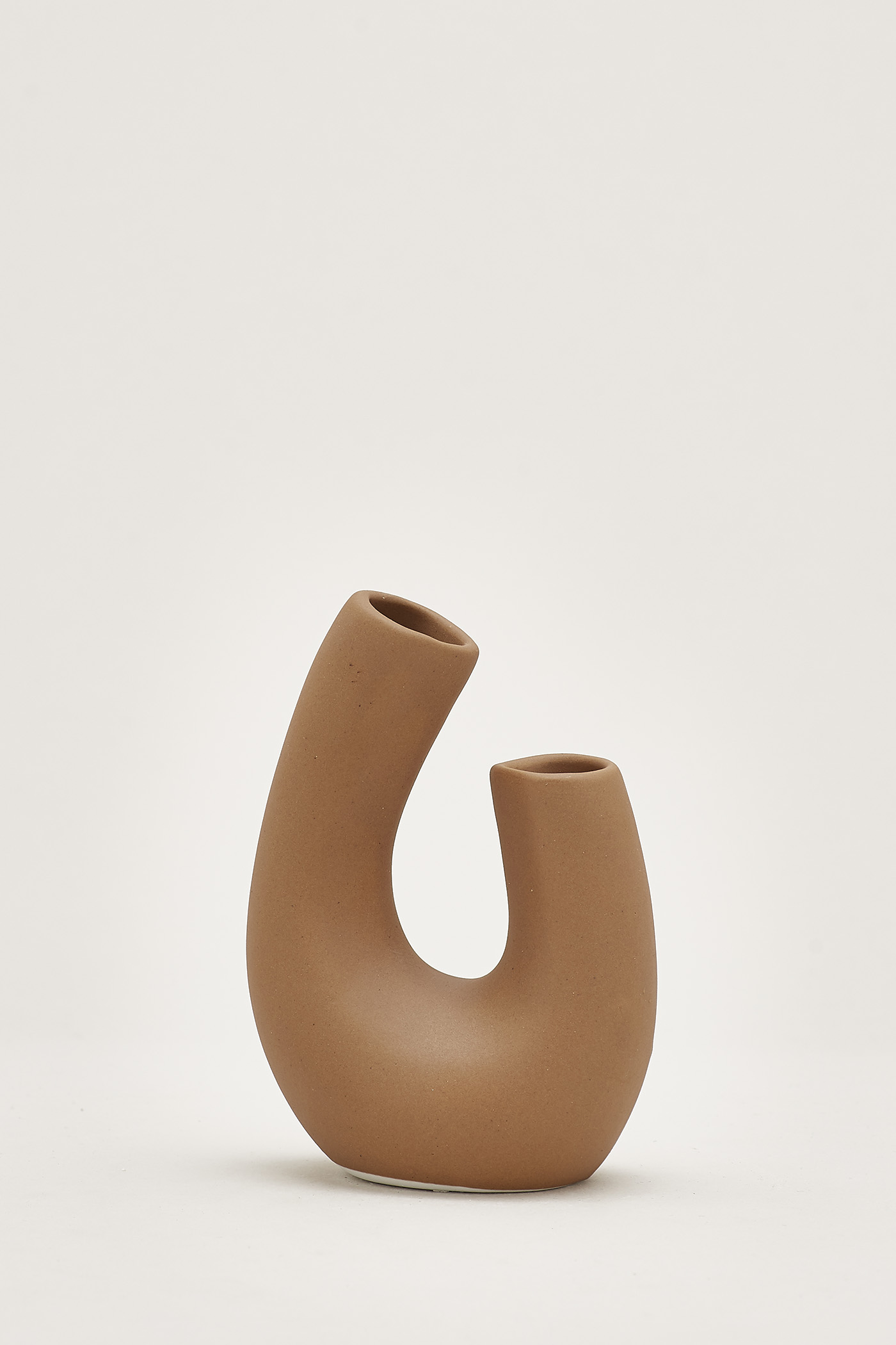 Kozue U-Shaped Small Vase