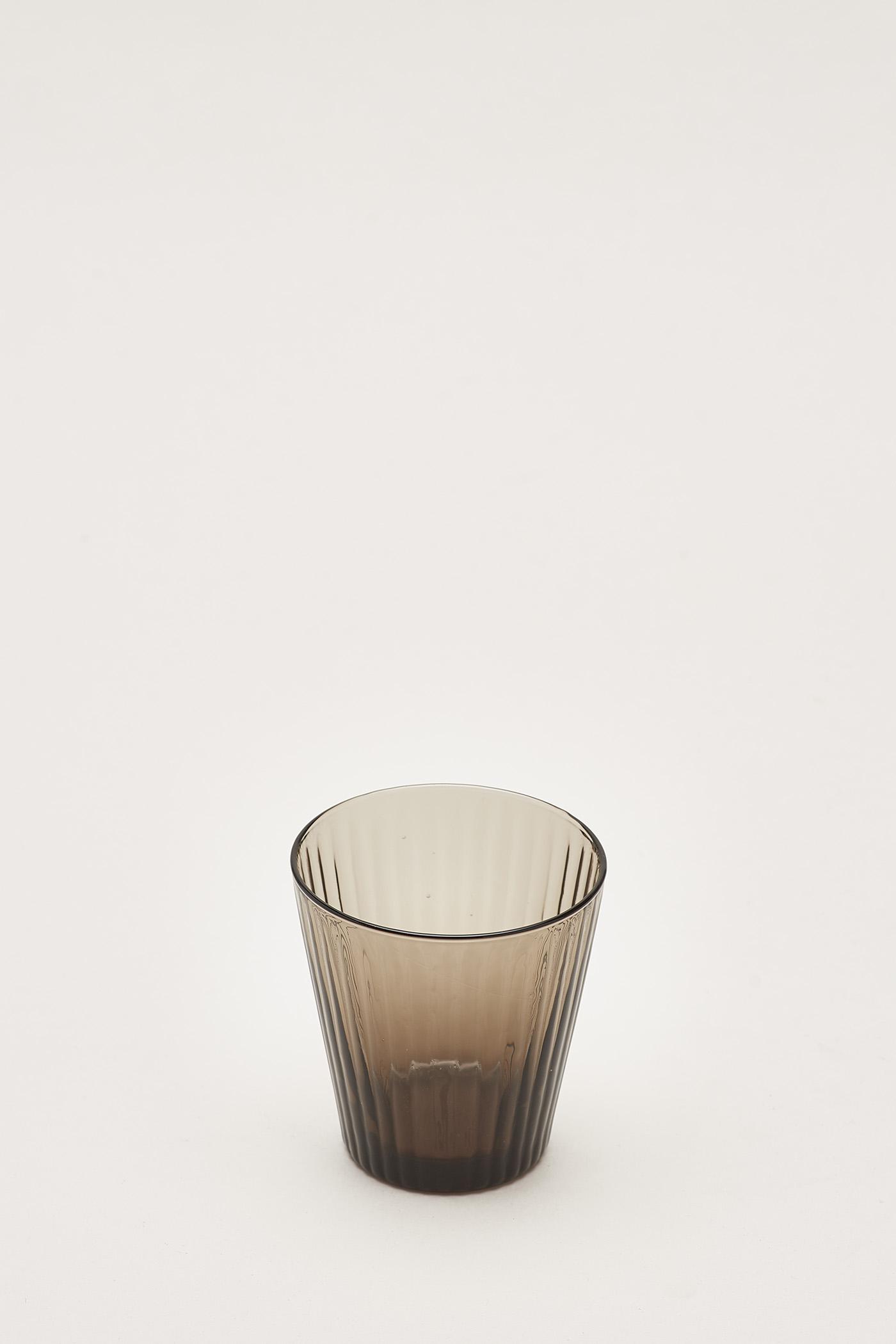 Kristopher Reeded-Glass Tumbler