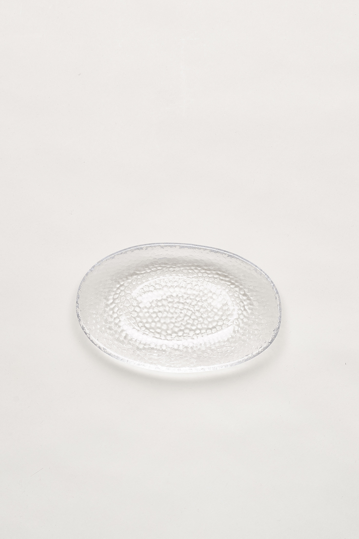 Malin Dimpled-Glass Dish