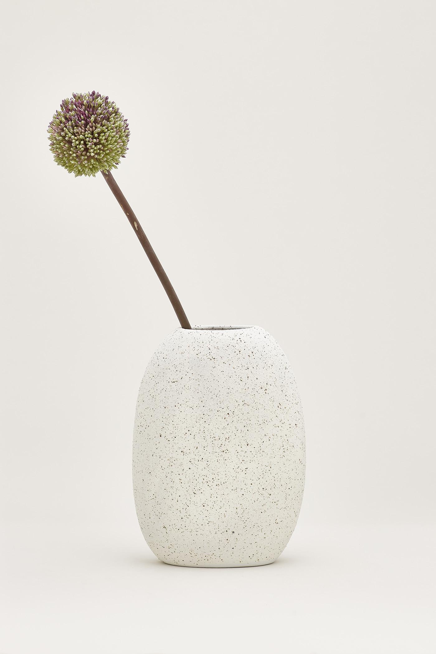 Rieko Large Flat Vase