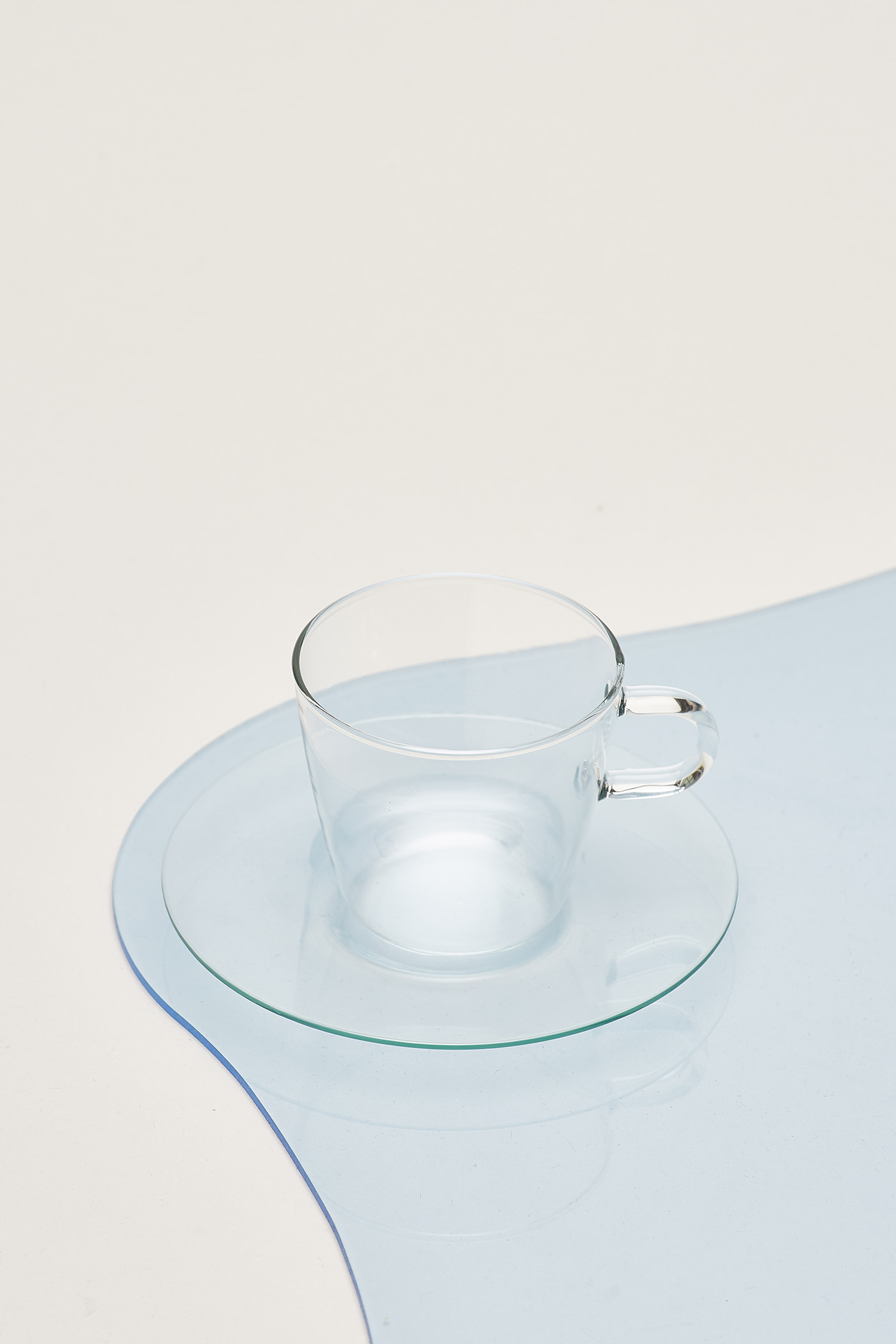 Trendglas Costa I Coffeeglass with Saucer